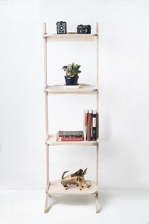 Splayed Book Shelf- Book shelves