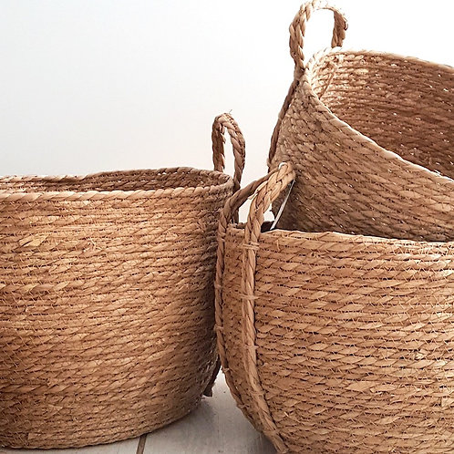round baskets with handles woodka interiors