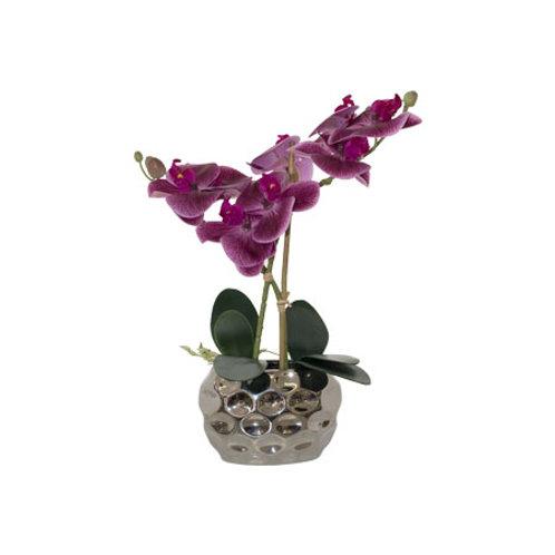 faux purple orchid