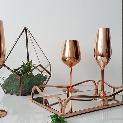 Champagne Flutes- Set of 2