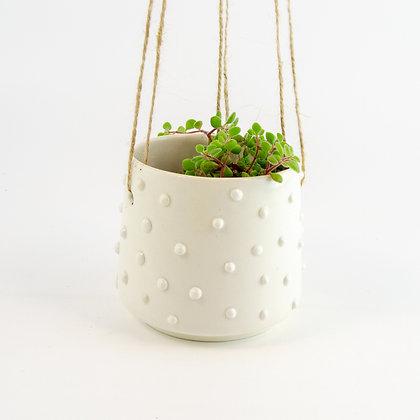 Ceramic Nobby Hanging Planter Pot