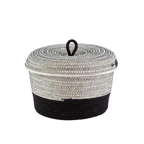 Lidded bowl Basket