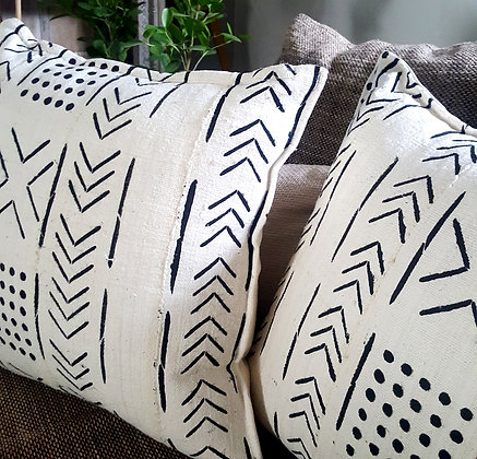 Mudcloth scatter cushions