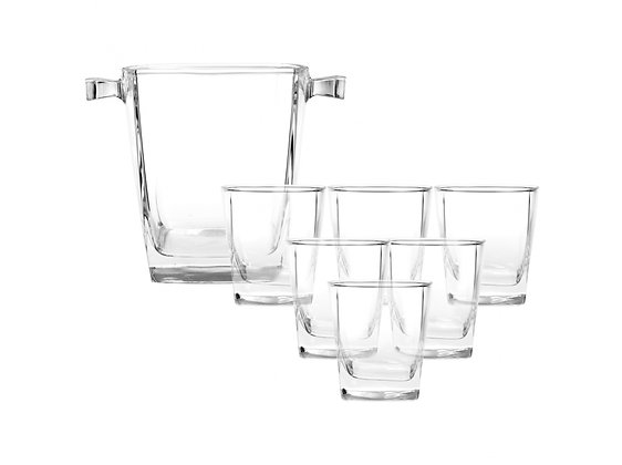 Luminarc Drink set 7 pcs - Sterling