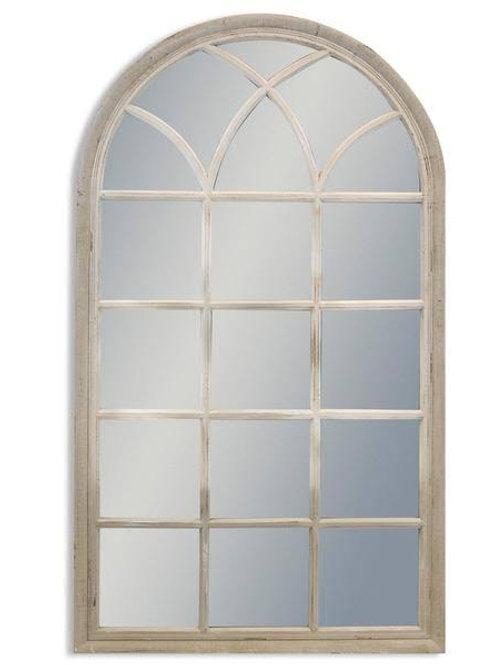 Arched Window Mirror