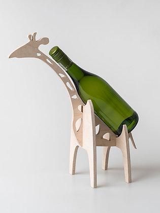 Giraffe Wine Holder Woodka Interiors