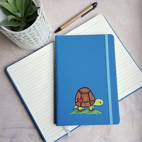 A5 Happy Tortoise Notebook