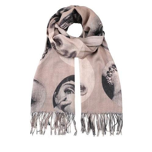 art print scarves