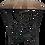 Thumbnail: Acacia Wooden Top Side Table -Metal legs