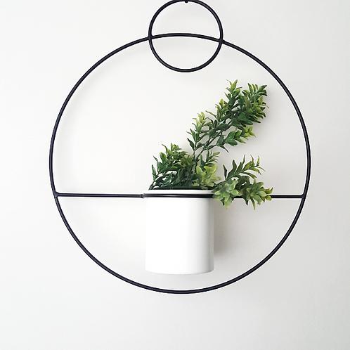 Round Hanging Pot Plant Holder- Woodka Interiors