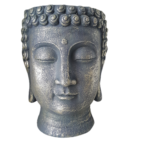 Buddha-head-planter-woodka-interiors-home-decor-