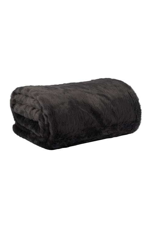Panther Fur Throw in Shade
