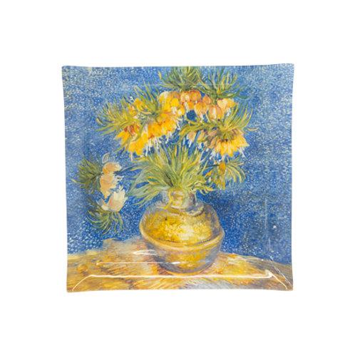 Sunflower Impressionist Decorative Plate