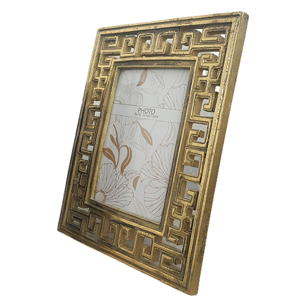 Woodka-Interiors-photo-frame-greek-key-gold-design