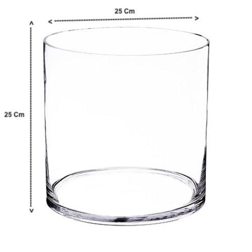 Round Cylinder Vase - Large