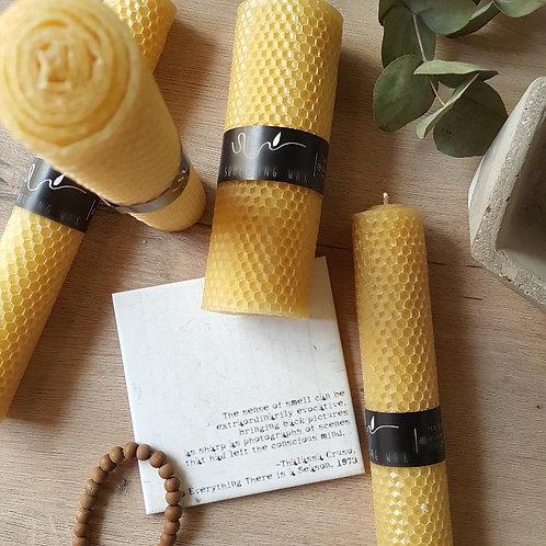 honey candles Woodka Interiors