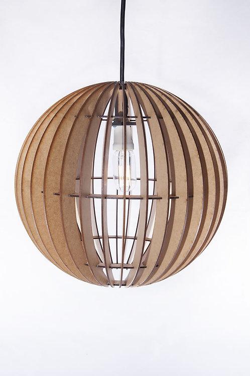 Wooden Round Pendant Ceiling Light