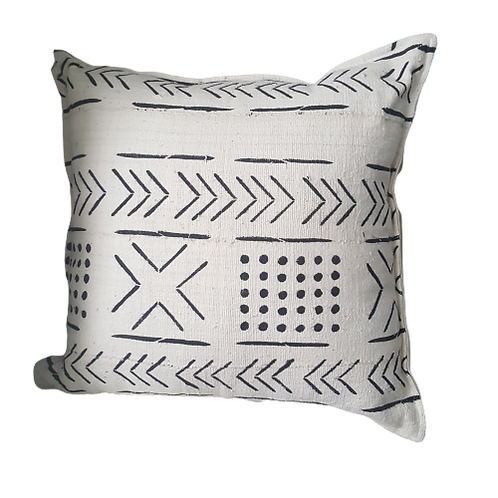 Mudcloth scatter cushions woodka interiors