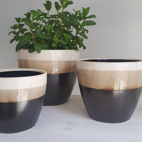 Ceramic Pot Set of 3