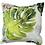 Monster leaf scatter cushion print- reversible