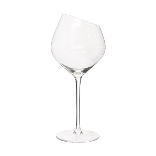 Slanted Wine Glass Set of 6