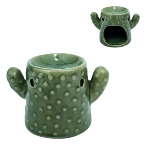 Ceramic oil Burner - Cactus