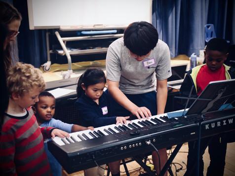 Ben with Rostdam, Kat and Zamari