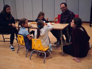 MI families meeting our volunteers