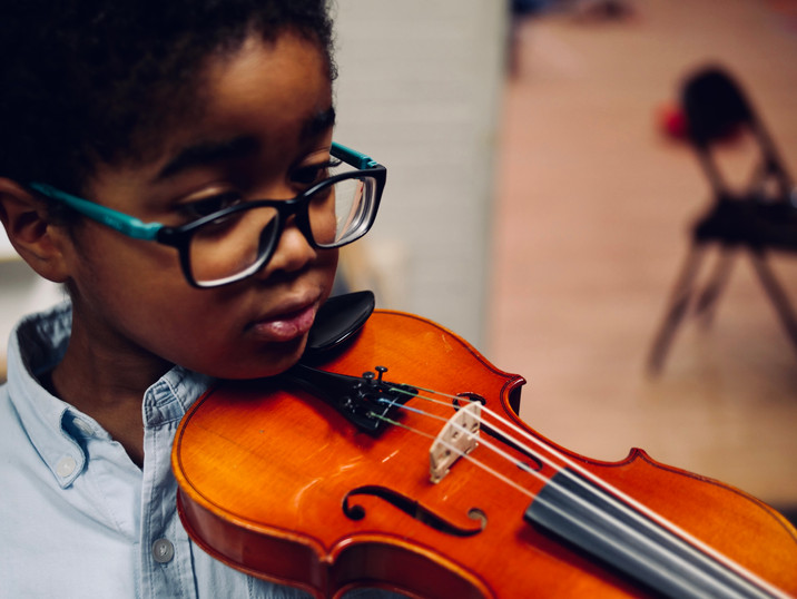 Ellison and the violin
