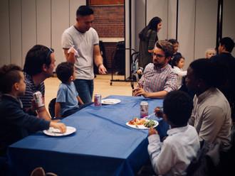 Mr. Cordes meeting our participants