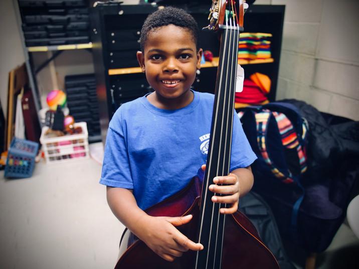 Zamari and the bass