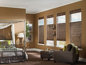 top down : bottom up woven wood shades.j