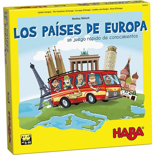 LOS PAÍSES DE EUROPA