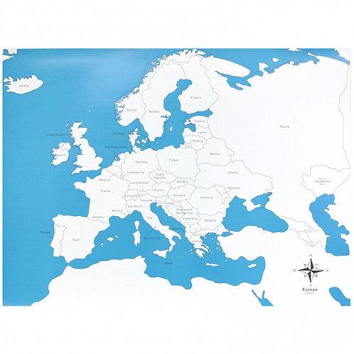 LÁMINA ETIQUETADA  EUROPA