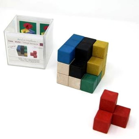 SOMA . CUBO 7 RE.WOOD
