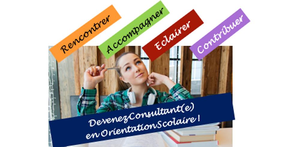 """Formation """"Devenir consultant(e) en orientation scolaire"""""""