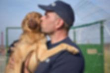 Cristian liebt Hunde
