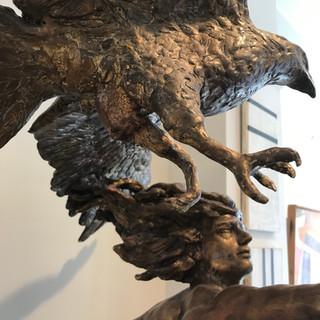 Bronze sculpture bu Gabriele Nardi