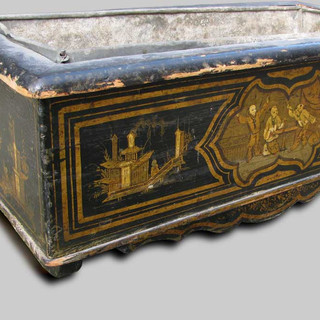 """A French planter ( """"Chinoiserie"""") circa 1870"""