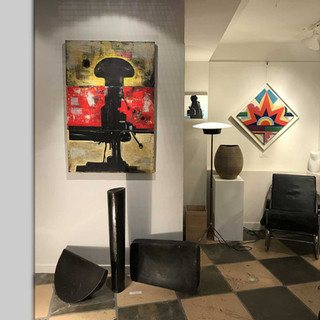 A corner in the basement of our gallery