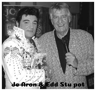 JC ARON WITH ED STEWART