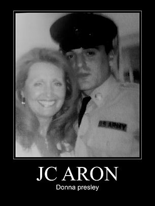 JC ARON WITH DONNA PRESLEY