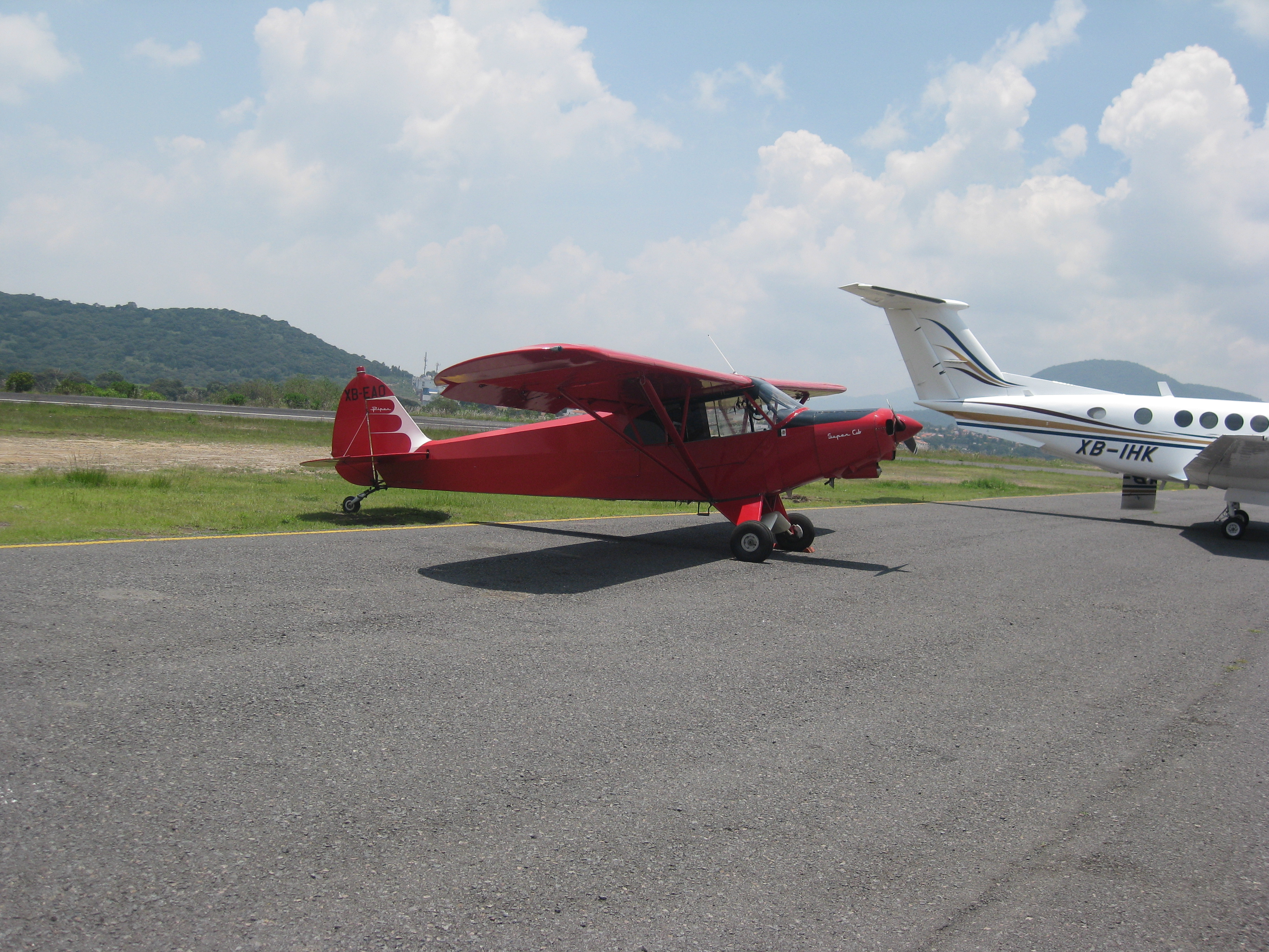 Avion de publicidad