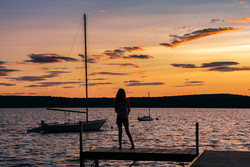 Fishing after sun has set