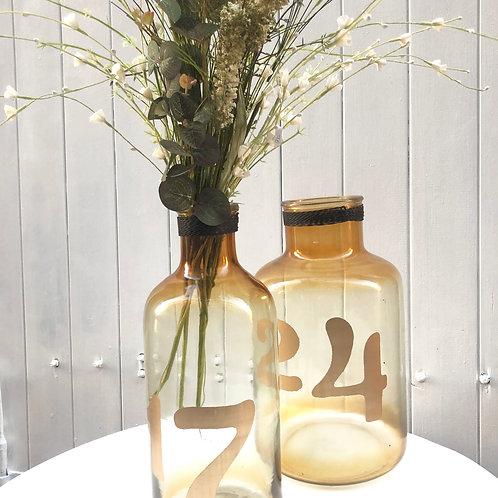 Vase teinté