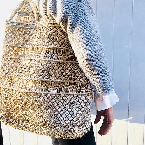 Grand sac en crochet