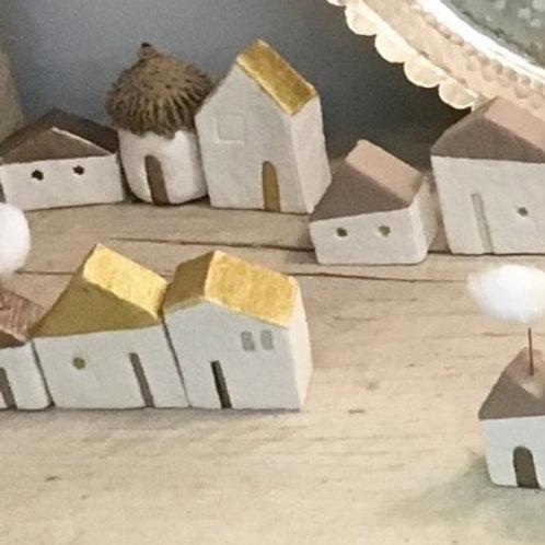 Maisonnette en plâtre