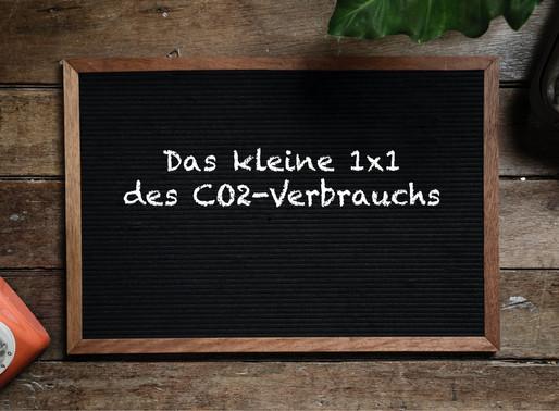 Das kleine Einmaleins des CO2-Verbrauchs