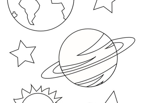Coding Space Coloring Sheets!