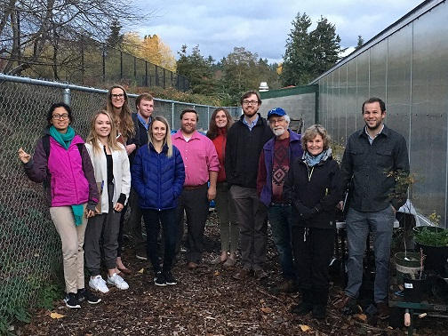 Rainwater Harvest Design team - Engineers without Borders and NHUF - October 2019
